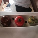 Tomato Salad Starter - lunch