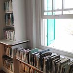 Upstairs reading room