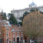 Vistas del Palacio Real desde el Hostal