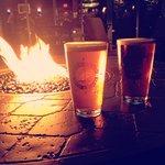 Fire Pit at the Regatta Pub