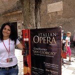 Opera with a smile - the lovely Luisa