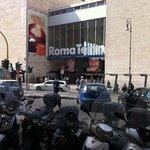 at Rome Termini train station
