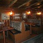 Interior of club