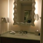 Vanity area separate to main bathroom