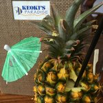 Keoki's Cocktail in the Pineapple
