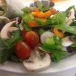 Garden fresh salads!