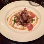 Quail with a mustard sauce. Everything tasted so fresh and well thought out.
