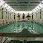 Indoor naturally heated pool