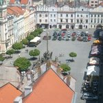 view over Pernstyn Square