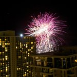 Friday night fireworks were amazing