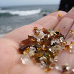 """Some of the """"glass sand."""""""