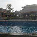 Lost in the massive pool at Puri Salila