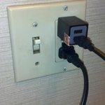Dark blood? smears on light switch in bath