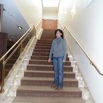 Escaleta a la sala de reuniones