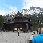 Lodge at the lake Morskie Oko