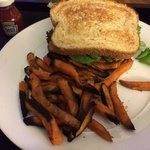 Sinner sweet potato fries (have been consigned to flames of woe)
