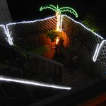 Sun deck at night