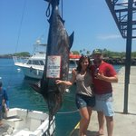 414 lb Blue Marlin Caught on the Camelot!!