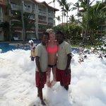 Foam Party with Riki & Amauri