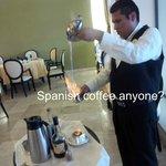 Spanish coffee at Los Olivos