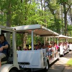 take tram through park