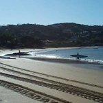 Parte central da praia!