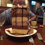 the Mile High ice cream cake. a must try.....