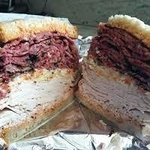 Eppy's Special !! Great , great !! Fresh turkey, hot pastrami with homemade slaw and Russian dre