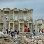 Celsus Library ruins
