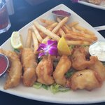 Seafood Combo and Chips