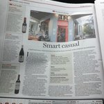 A write up in the SMH Good Food