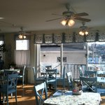 Bright & Cheery Dining Room with Views of Harbor