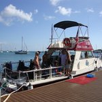 Reliance at Christiansted Pier