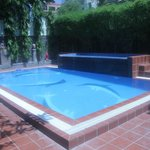 Very clean well kept pool and surrounds
