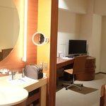 Room as seen from bathroom
