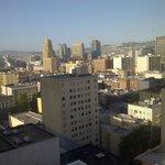 Vista de la ciudad desde el piso 16
