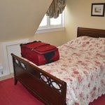Smaller bedroom with double bed, comfortable