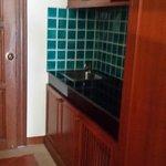 Kitchenette in deluxe room