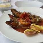 Cioppino - Shrimp complete with intestinal tract