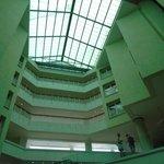 Attrium inside of Hotel
