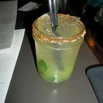 Cucumber and mint spritzer
