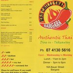 Red Chilli Thai Bargara