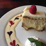 Anniversary Cheesecake. YUMMMM!