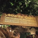 Security check for camera