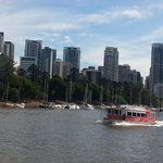 Free taxi boat around Brisbane