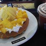 Delicious waffles!!!