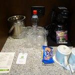 coffee facilities in room