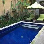 pool in villa 7