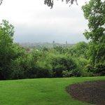 View of Edinburgh from Botanical Gardens