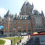 Québec , le château Frontenac